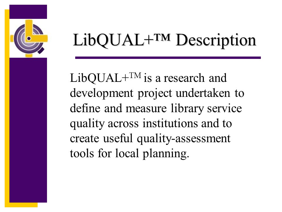 Dimensions of Library Service Quality