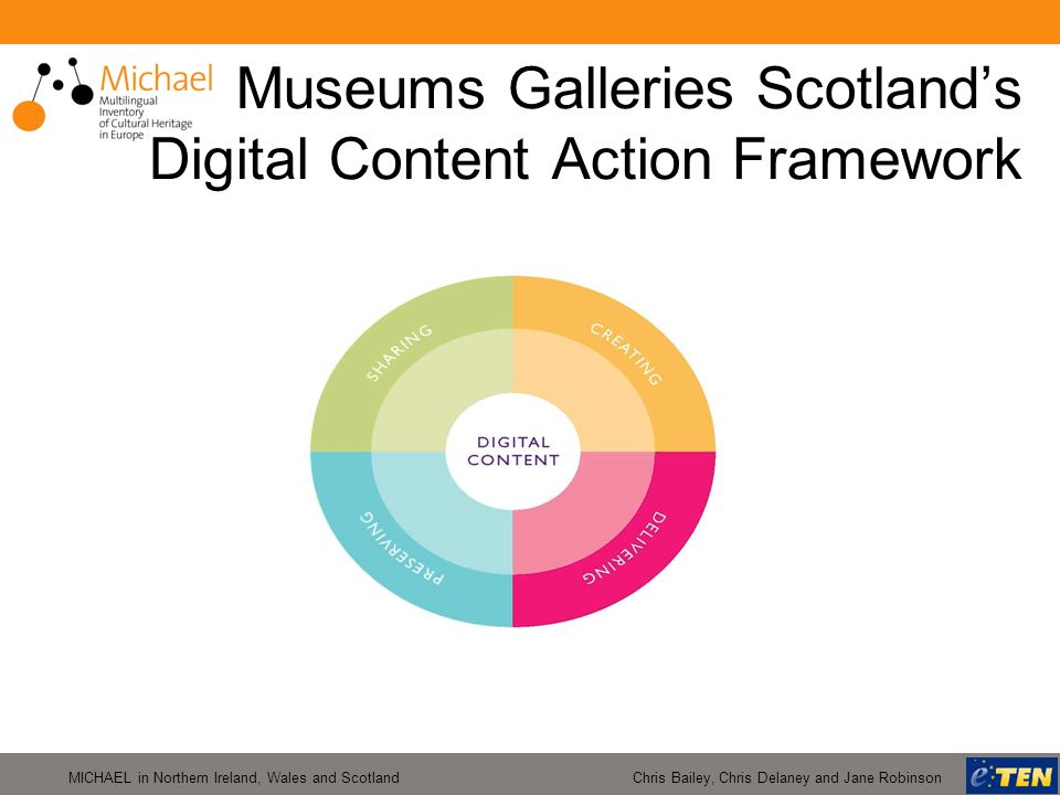 MICHAEL in Northern Ireland, Wales and Scotland Chris Bailey, Chris Delaney and Jane Robinson Museums Galleries Scotlands Digital Content Action Frame