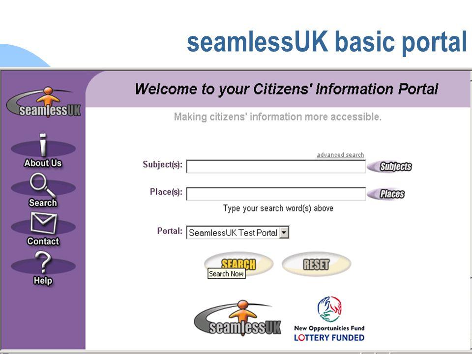 seamlessUK seamlessUK basic portal