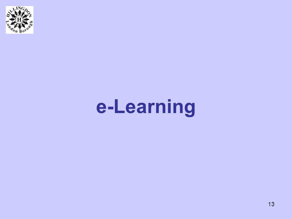 13 e-Learning