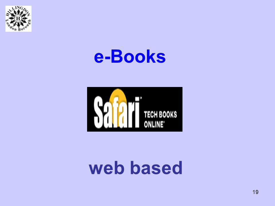 19 e-Books web based