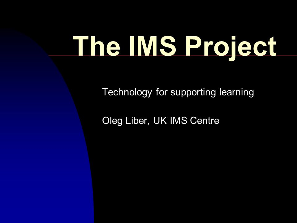 IMS Standards Metadata Data Exchange Object LM Server PermissionsCommerce Back-end Systems Profile