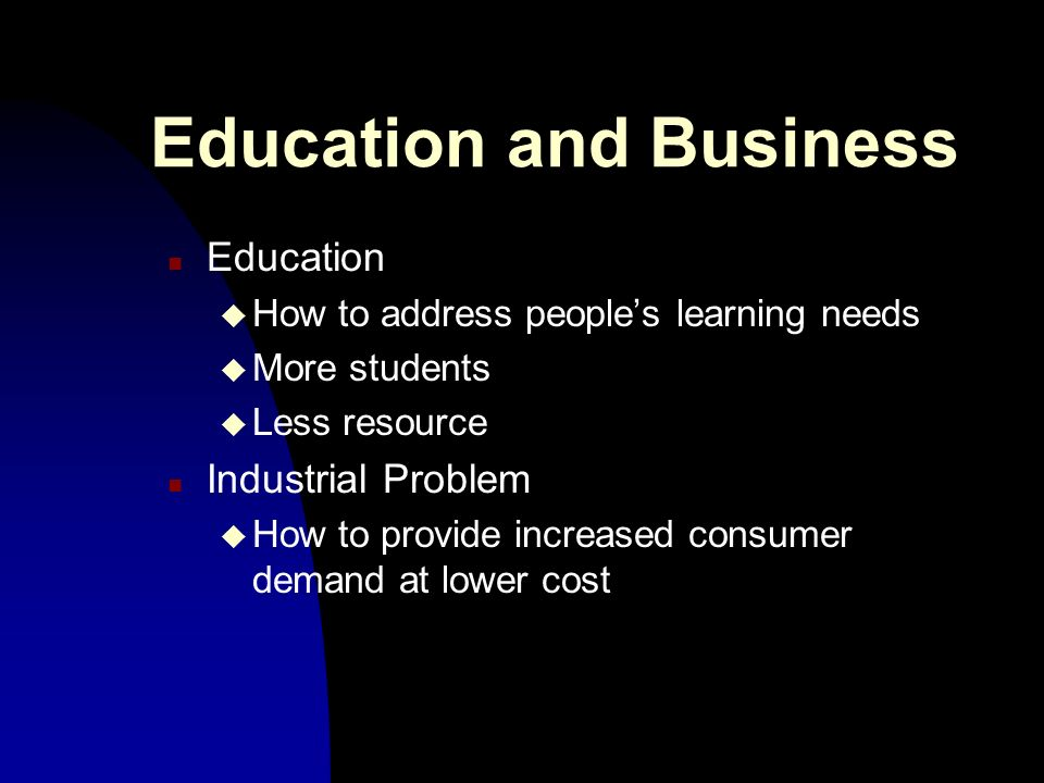 Traditional Business Model n Fordism - any colour as long as its black n Hierarchical production departments n Assembly lines n Benefit: High volumes n Costs: Low creativity n No-learning organisation
