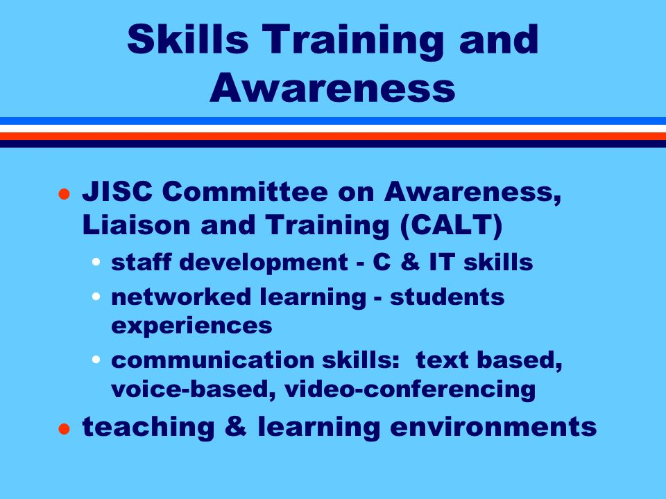 Skills, Training and Awareness l a deep gap in our knowledge l how do users search for information.