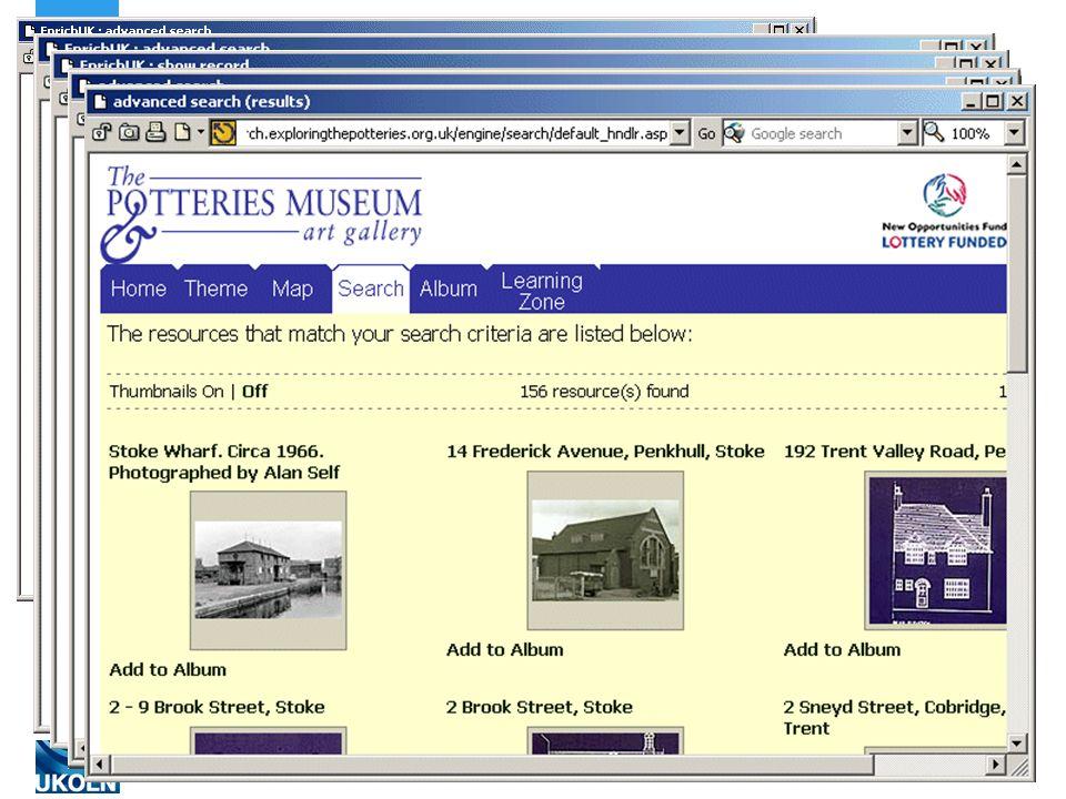 A centre of expertise in digital information managementwww.ukoln.ac.uk Pulling It Together