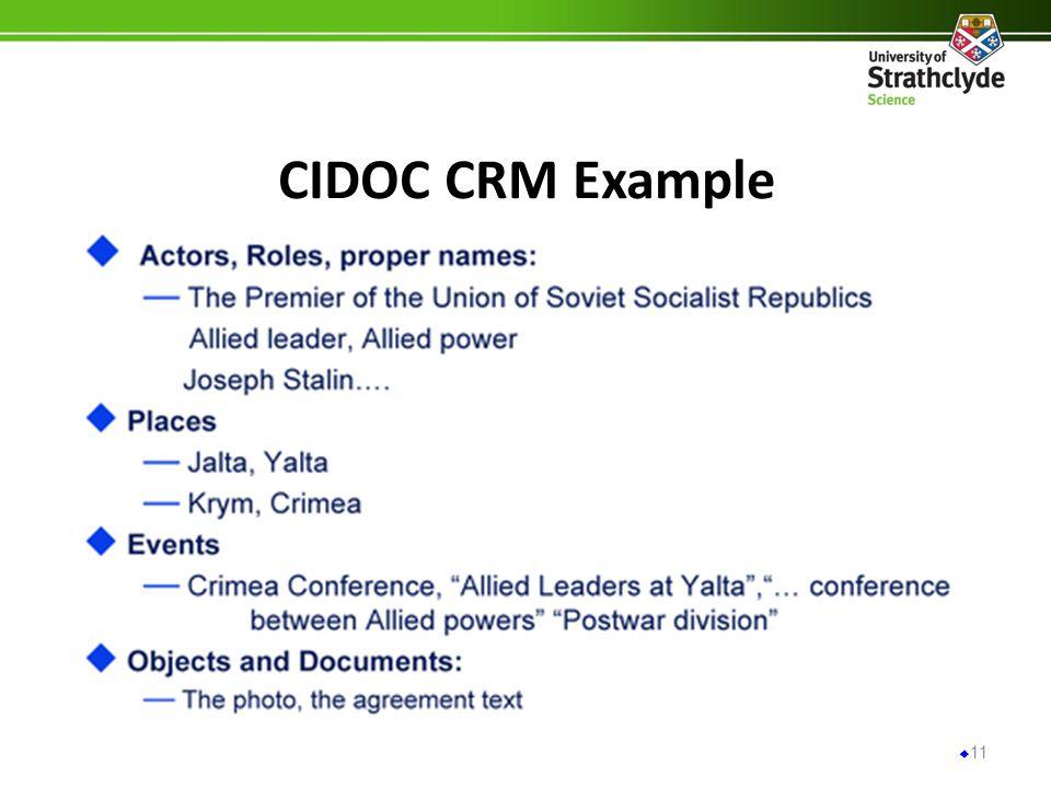 CIDOC CRM Example 11
