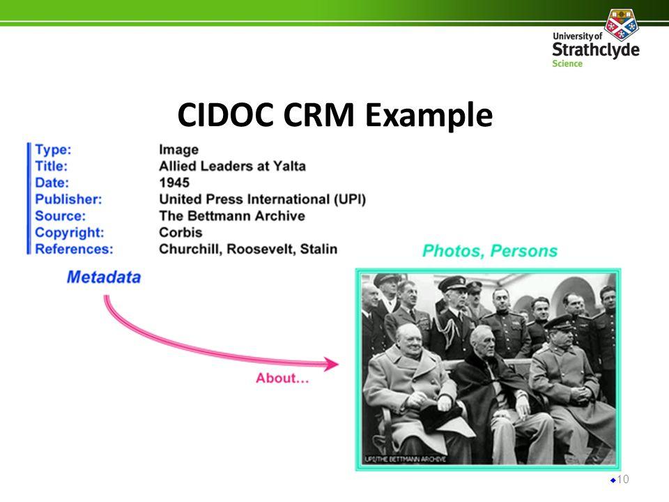 CIDOC CRM Example 10