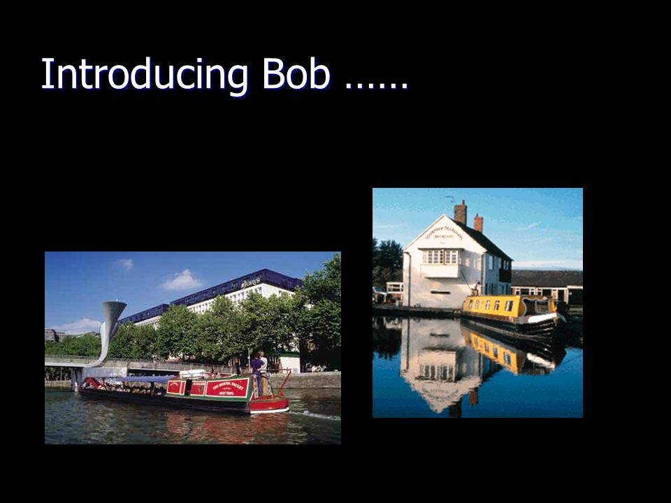 Introducing Bob ……