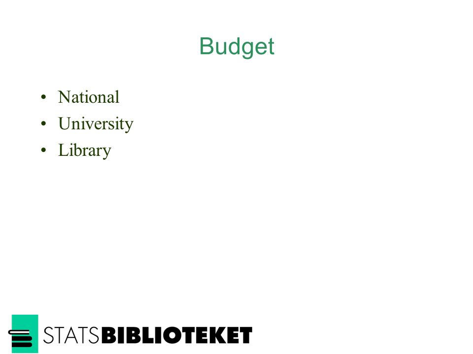 Budget National University Library