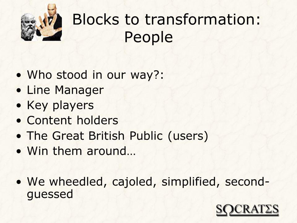 Publishing content: Socrates Skink