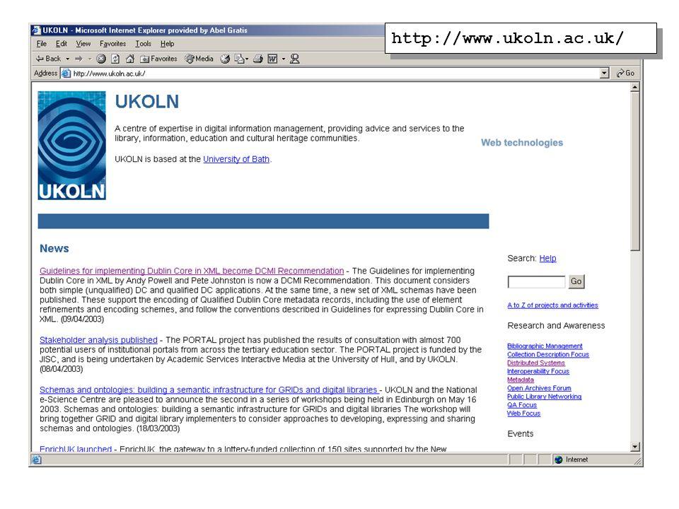 http://www.ukoln.ac.uk/