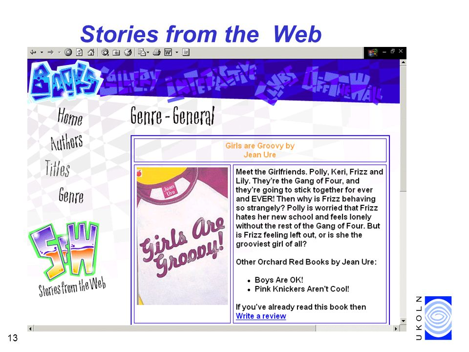 13 Stories from the Web