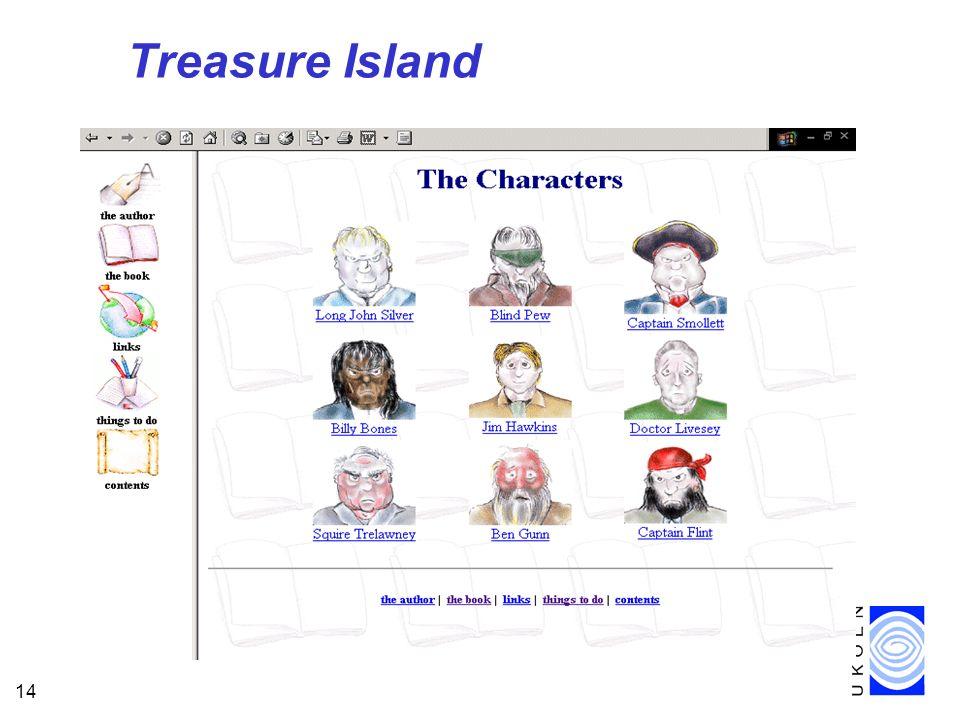 14 Treasure Island