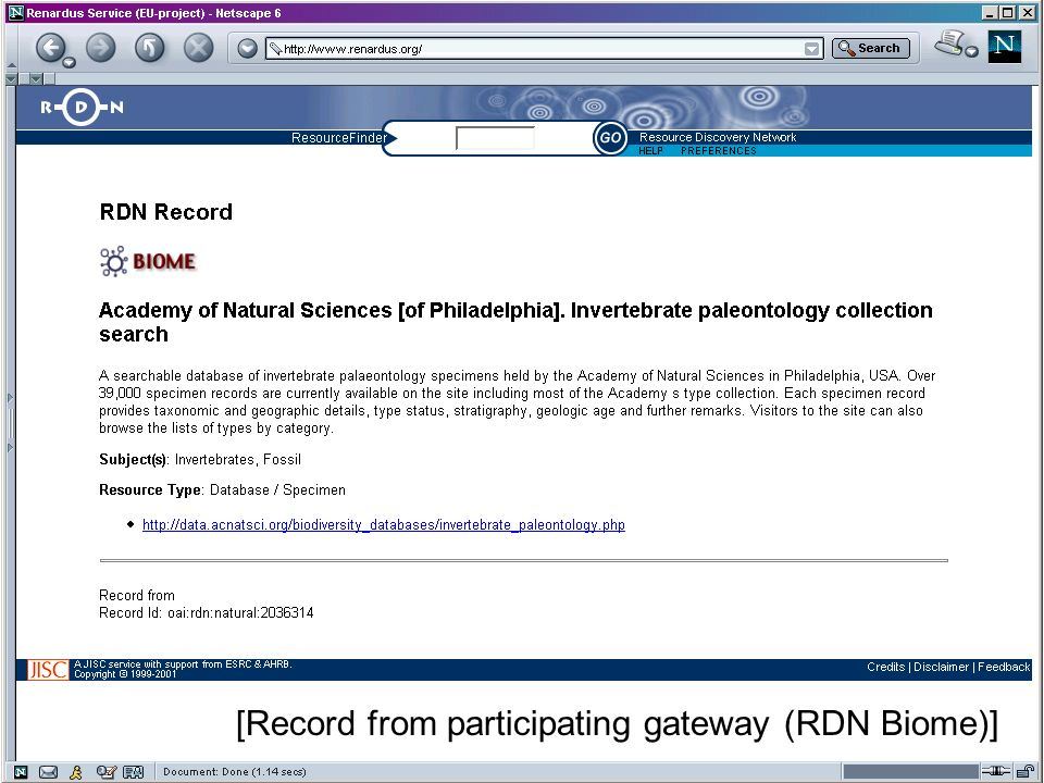 6th International Conference on Social Science Methodology, Amsterdam, 2004 [Record from participating gateway (RDN Biome)]