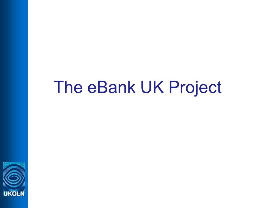 The eBank UK Project