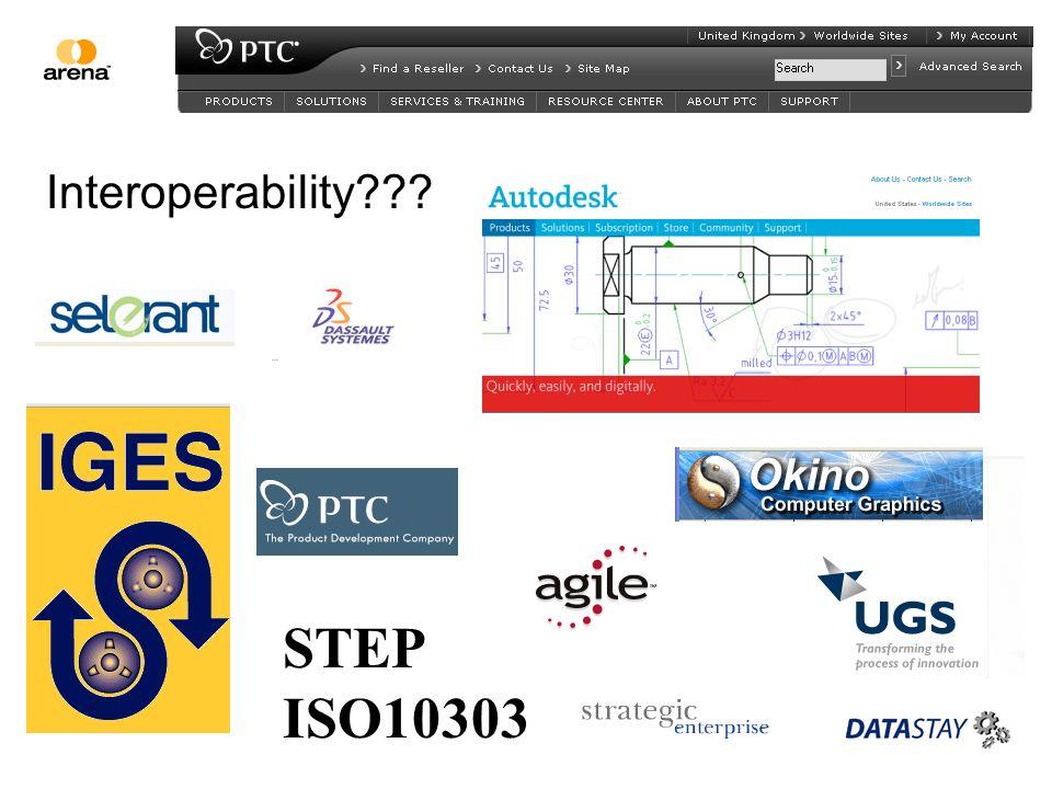 STEP ISO10303 Interoperability???