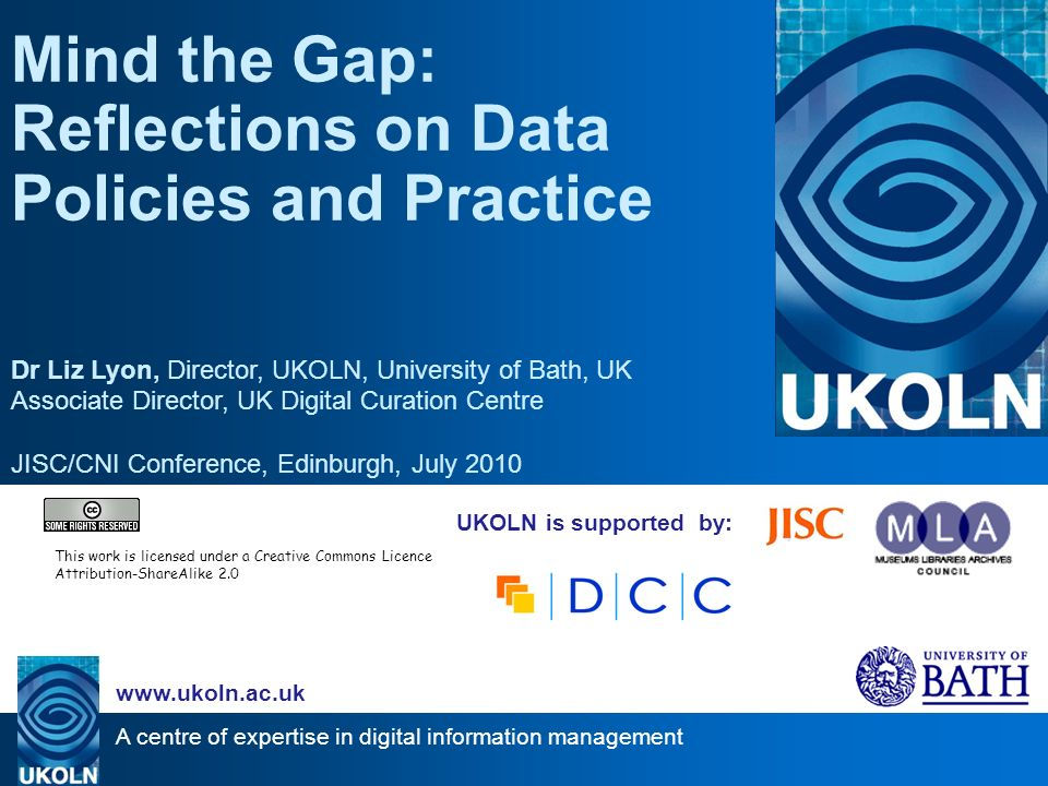 Overview UK Data Policy Context –Institutions & open science –Data practice today Future landscape –Scale and complexity –Open and personal –Drivers and incentives Challenges & Actions –Planning tools –Policy Gaps