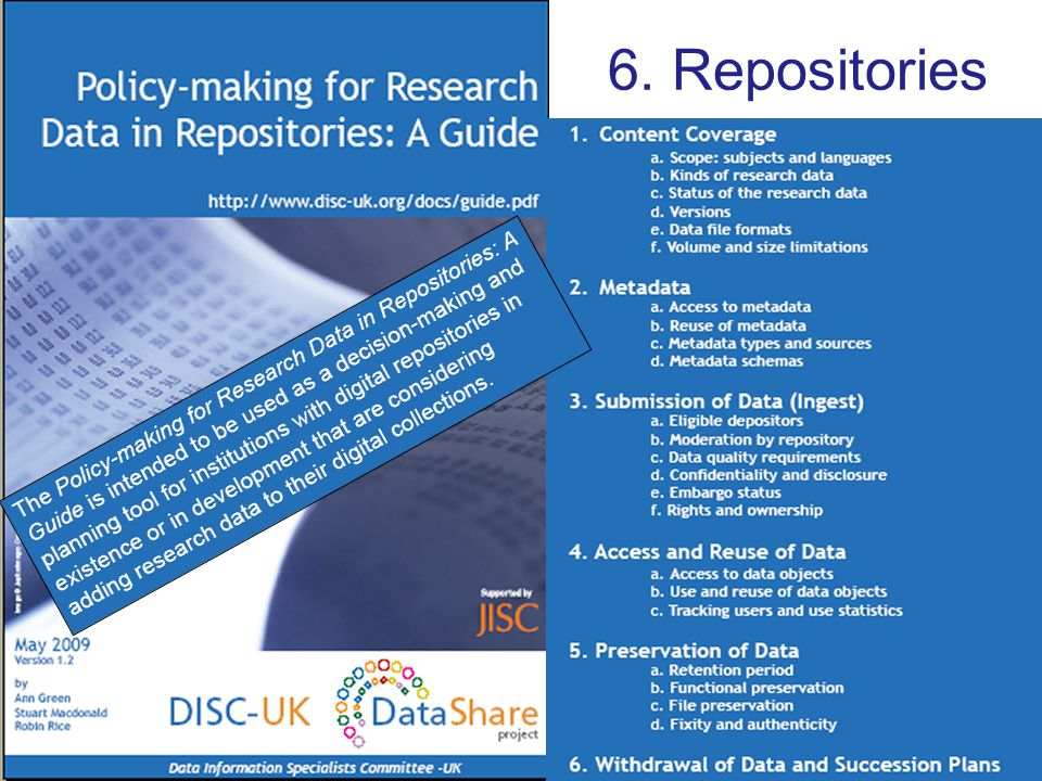 6. Repositories