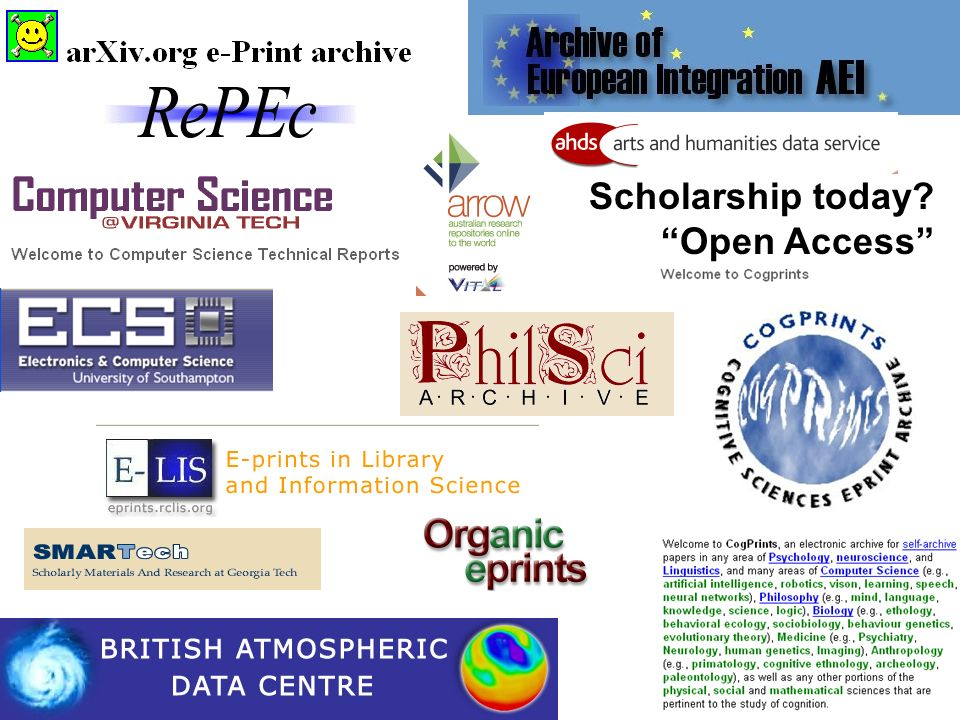 Scholarship today Open Access