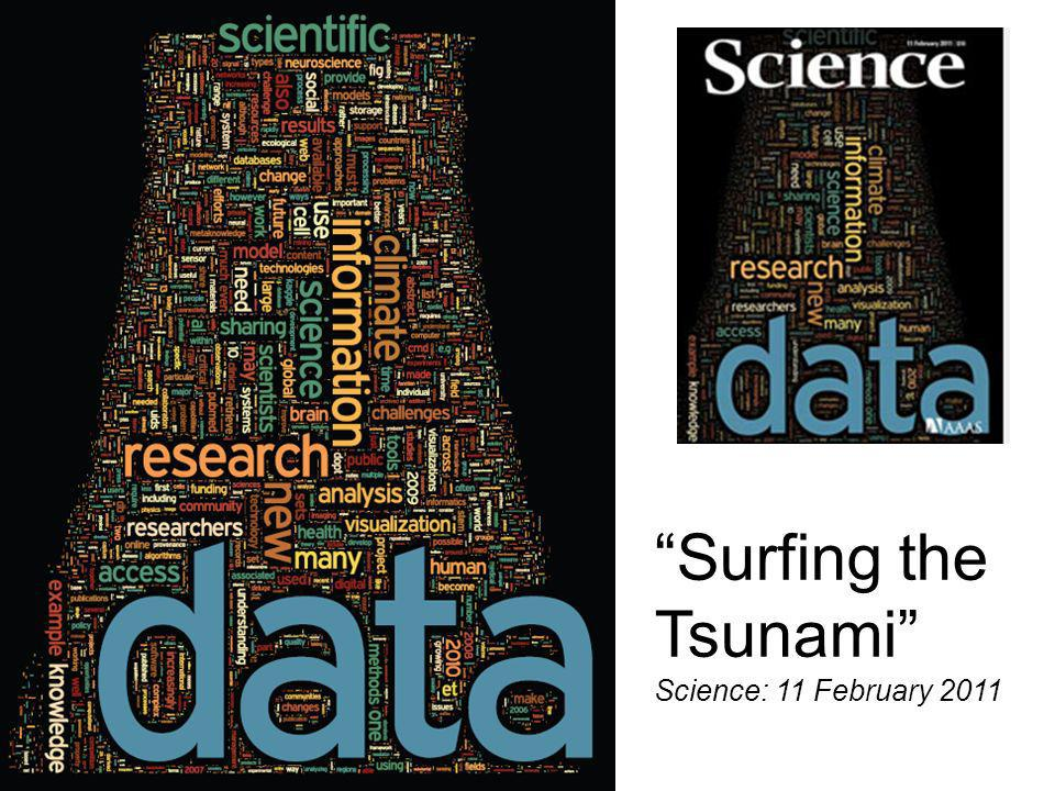 Surfing the Tsunami Science: 11 February 2011