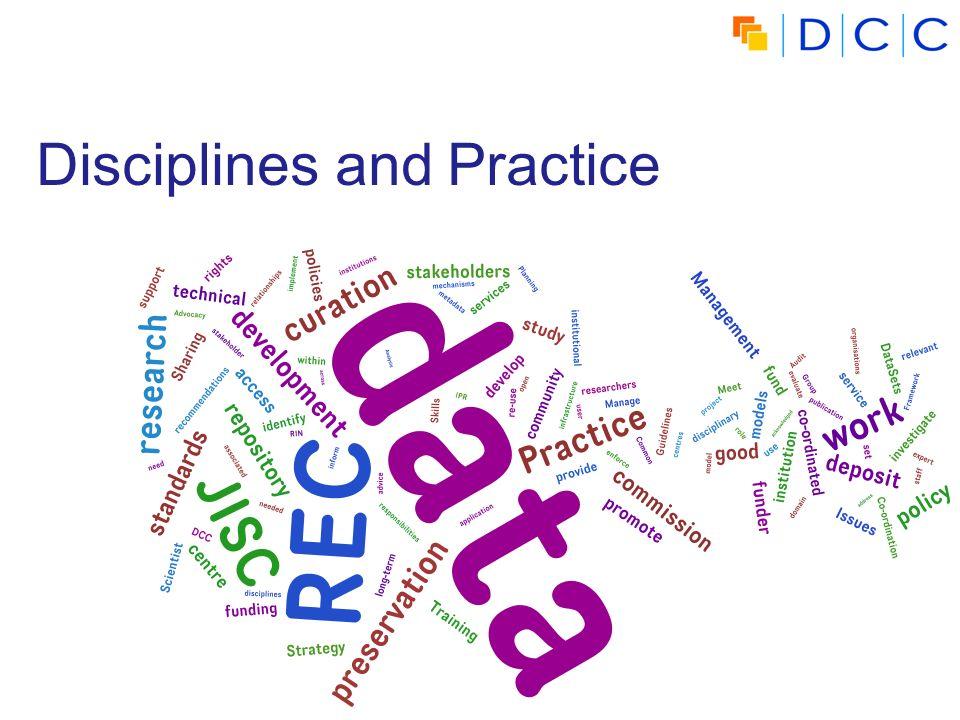 Disciplines and Practice