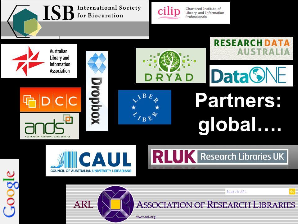 Partners: global….