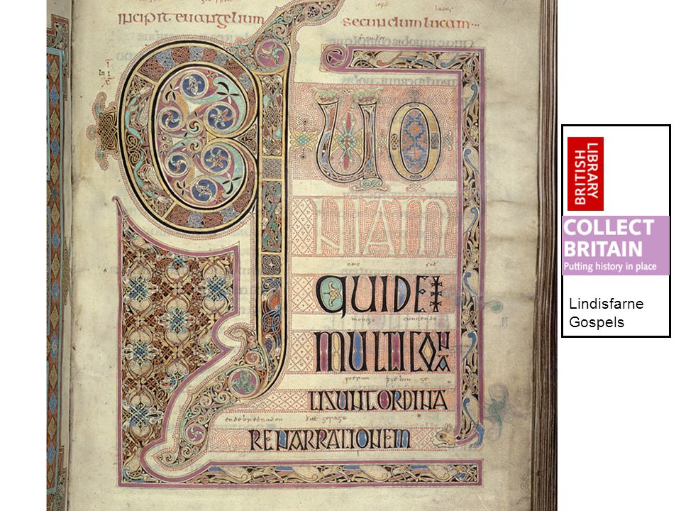 Collaboration for Sustainability Conference 20044 Lindisfarne Gospels