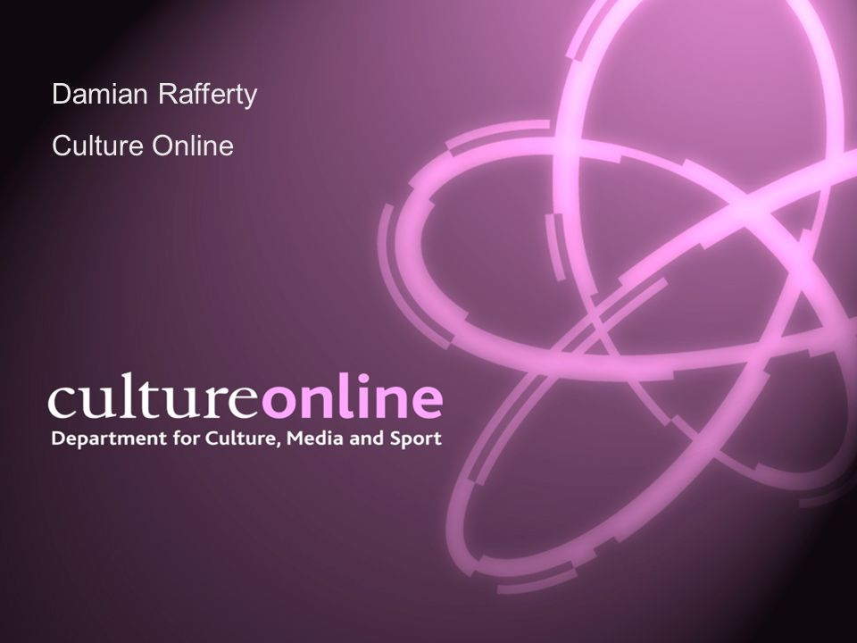 Damian Rafferty Culture Online