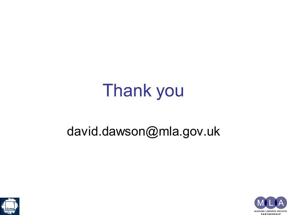 Thank you david.dawson@mla.gov.uk