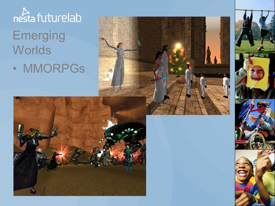 Emerging Worlds MMORPGs