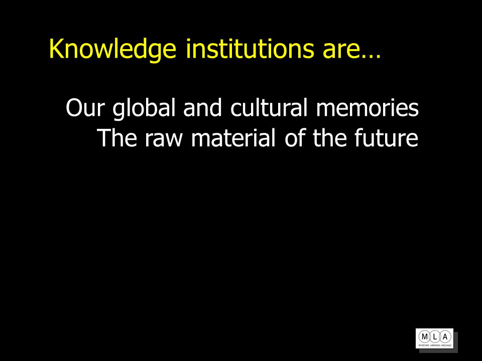 Digital Futures Programme Universal right to knowledge Integration of knowledge into everyday life