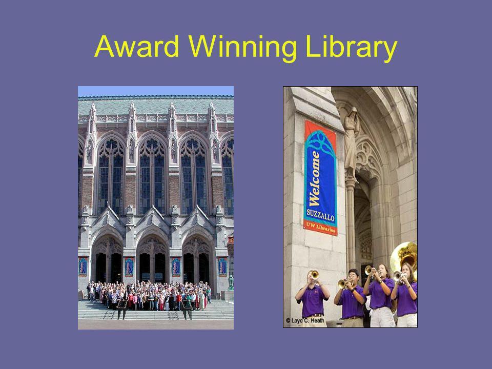 Award Winning Library