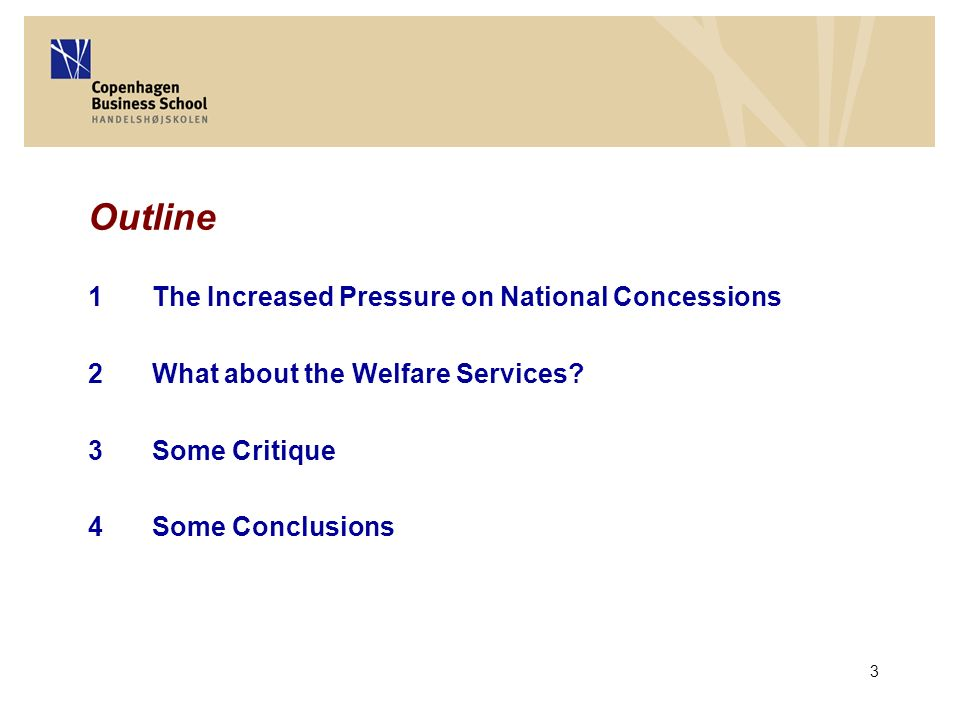 24 2.What about the Welfare Services.