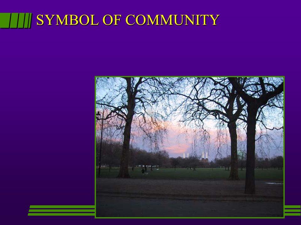 SYMBOL OF COMMUNITY