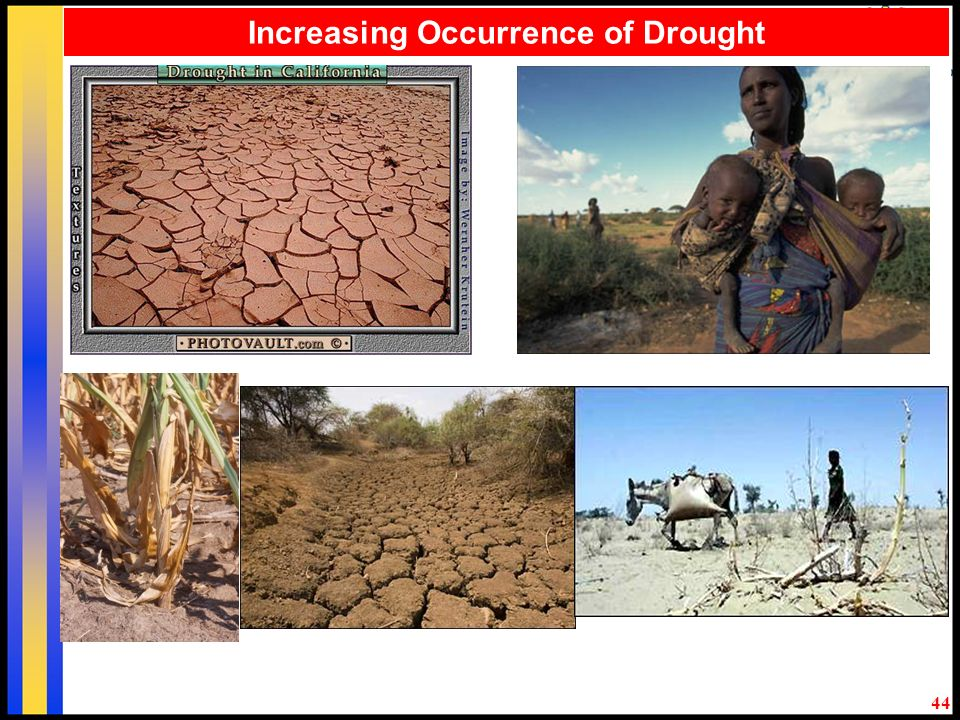 44 Increasing Occurrence of Drought
