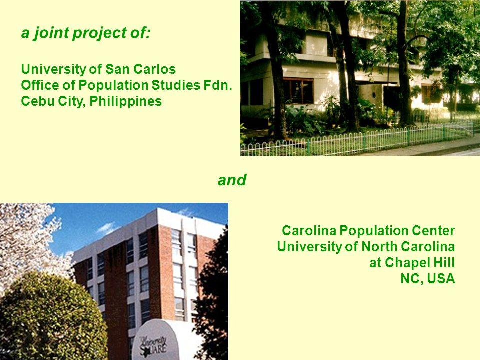 Study area: Metro Cebu Study period: 1983 - 2005