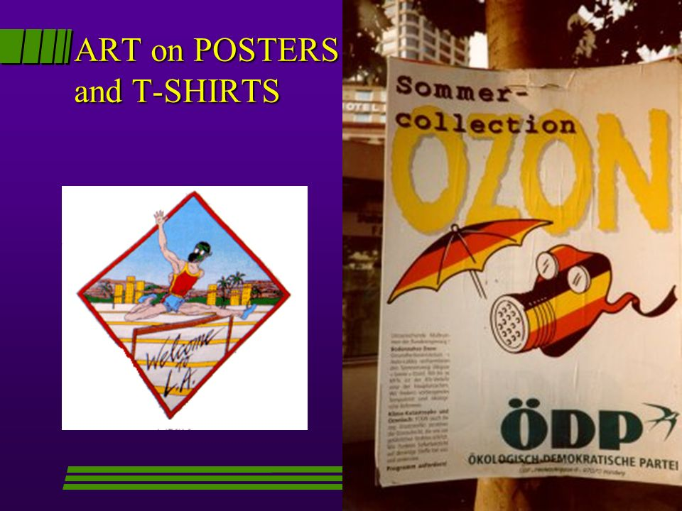ART on POSTERS and T-SHIRTS
