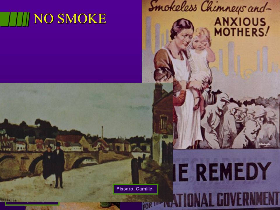 NO SMOKE Weight, Corel Running Man (1958) Pissaro, Camille