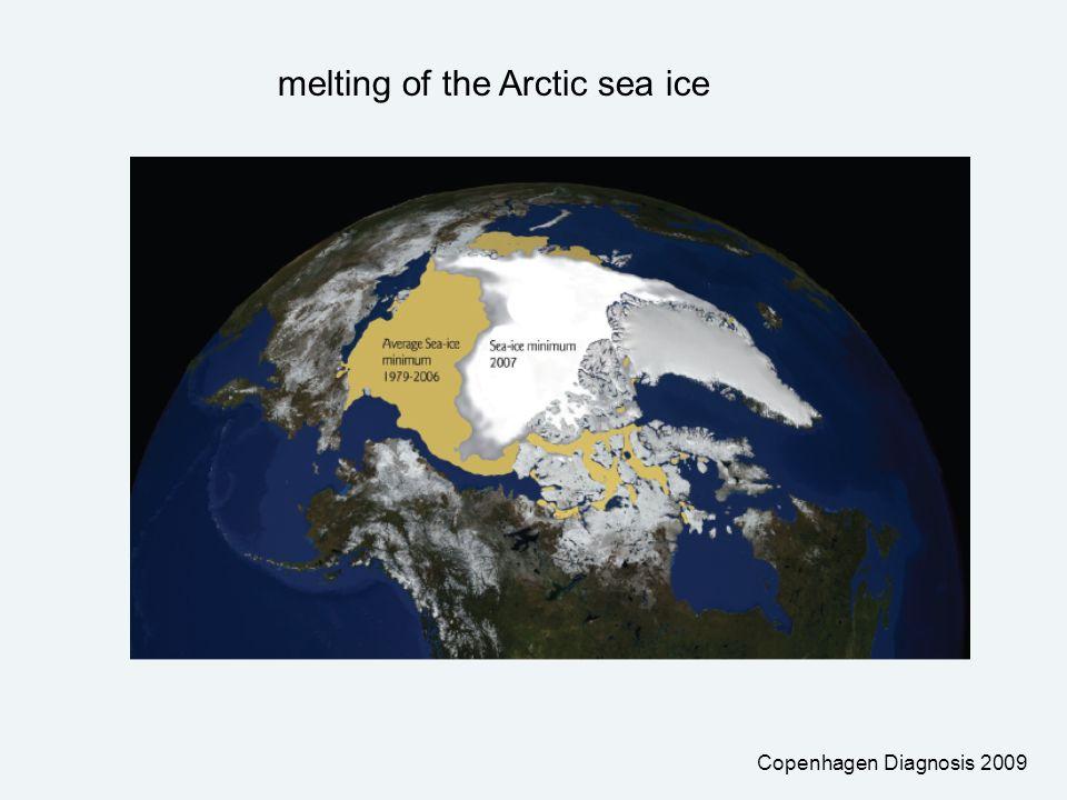 Copenhagen Diagnosis 2009 melting of the Arctic sea ice
