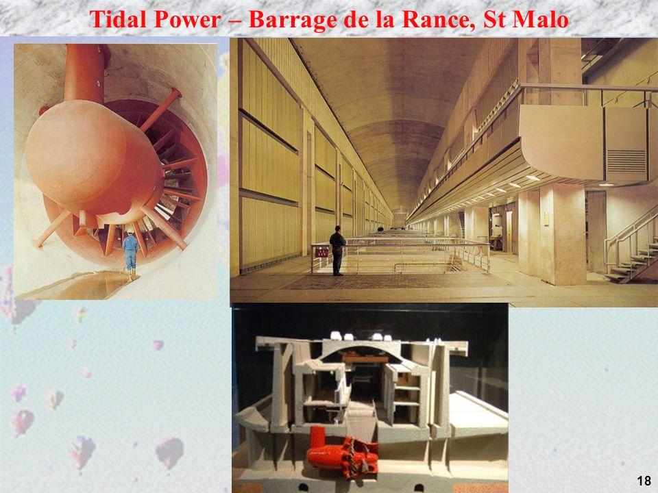 18 Tidal Power – Barrage de la Rance, St Malo