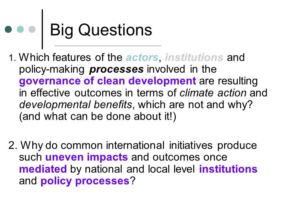 Big Questions 1.