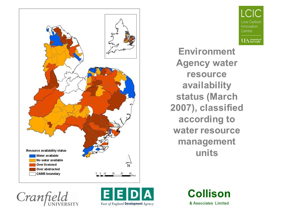Collison & Associates Limited Potential for Growth in East of England Agriculture Soil carbon levels falling Nitrate Vulnerable Zones & IPPC are constraining fertiliser use Pressures to reduce cultivation costs - £ and CO 2 reasons Many of the constraints on productivity relate to the management and performance of agricultural soils 15