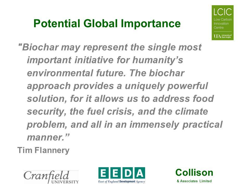 Collison & Associates Limited Potential Global Importance