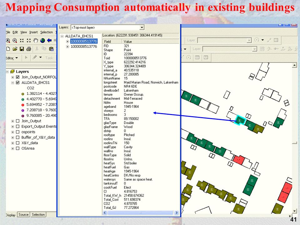 41 Mapping Consumption automatically in existing buildings