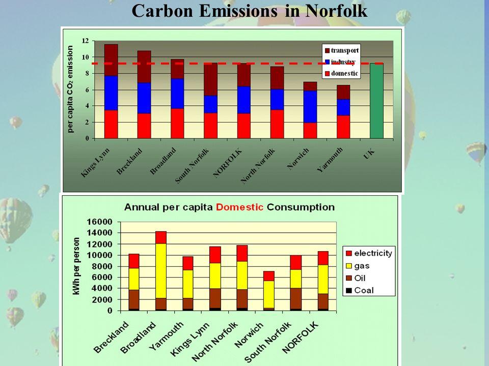 Carbon Emissions in Norfolk