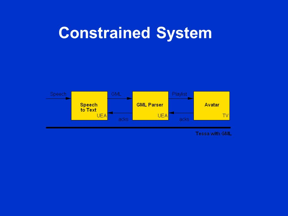 Constrained System