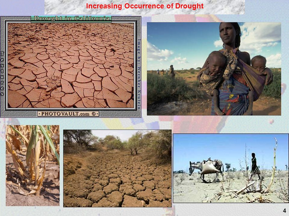 4 Increasing Occurrence of Drought