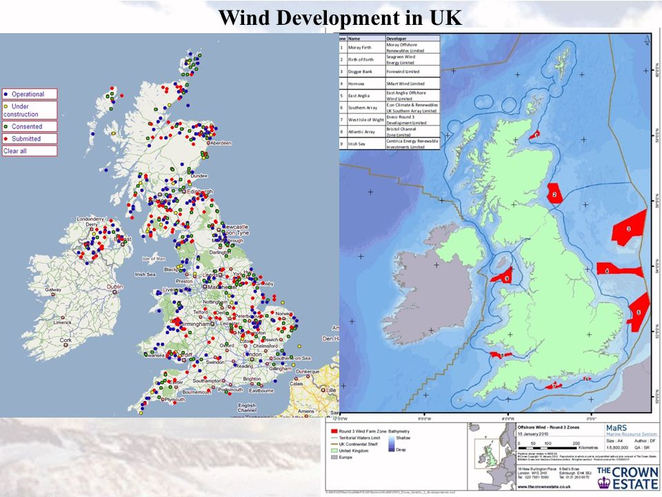 20 Wind Development in UK