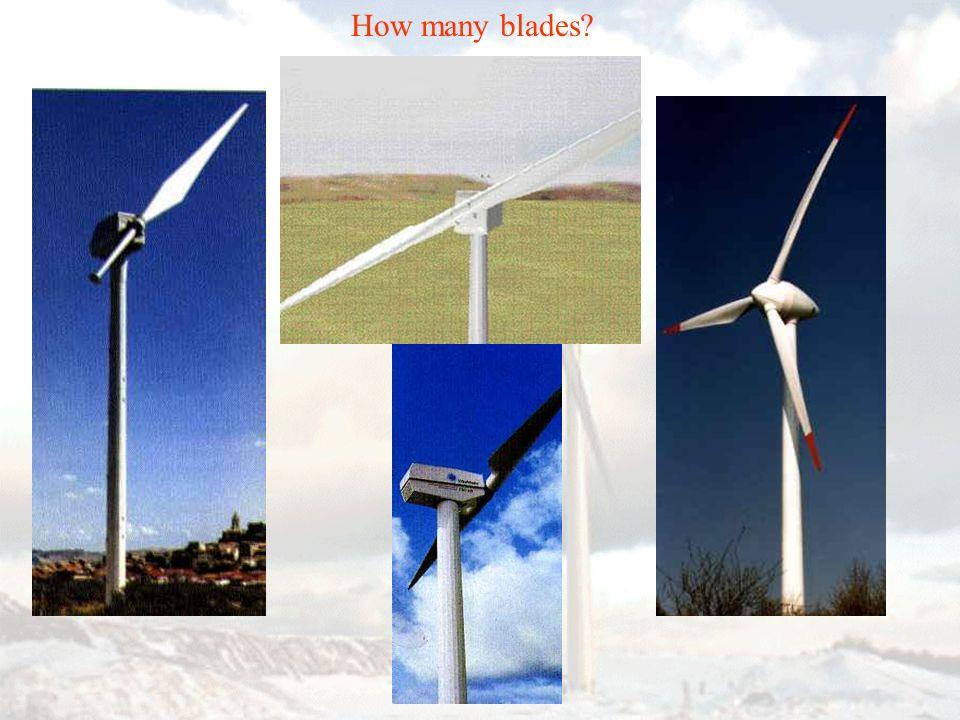 How many blades