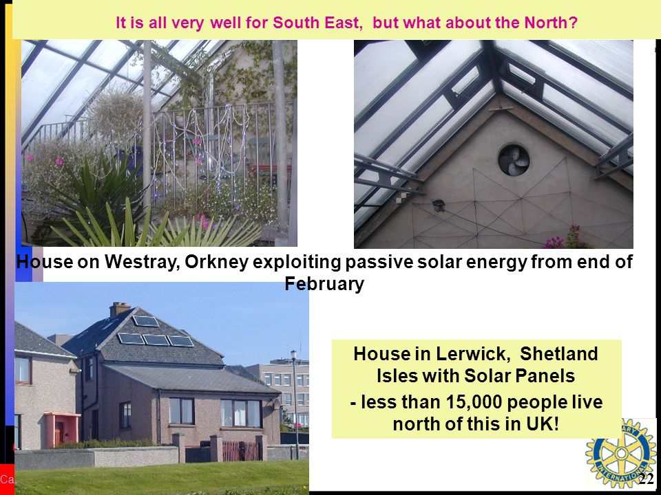 CRed Carbon Reduction 22 House in Lerwick, Shetland Isles with Solar Panels - less than 15,000 people live north of this in UK.